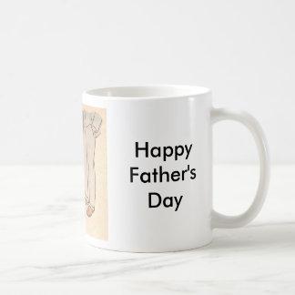 Flores para el papá taza