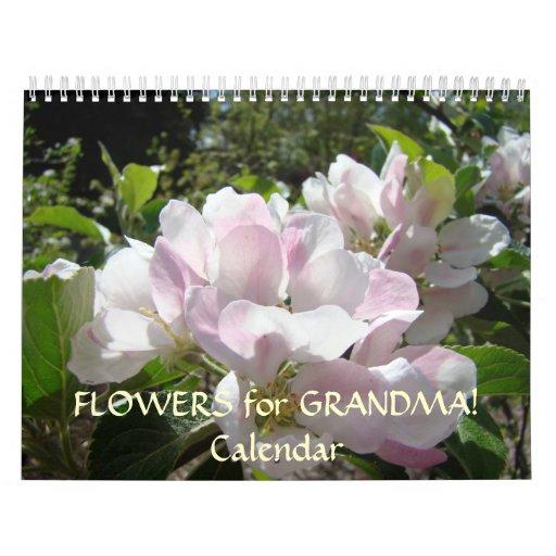 FLORES para el texto del personalizar del calendar Calendario