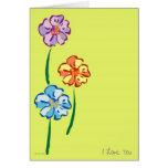 Flores para el Usted-Amor Felicitacion
