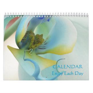 Flores para gozar de cada calendario del día