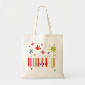 Flores para la bolsa de asas del día de madre