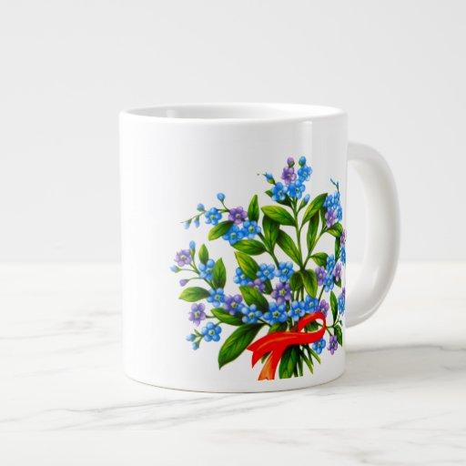 Flores para la taza