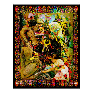 Flores para mi dragón póster