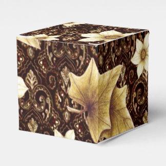 Flores pasadas de moda cajas para detalles de boda