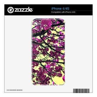 Flores pensativas iPhone 4S skins