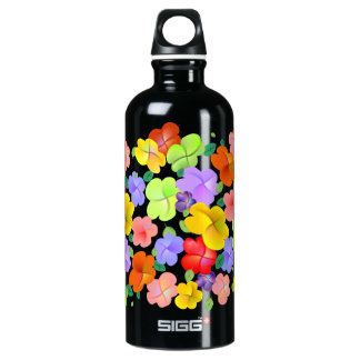 Flores Petaline de la primavera Botella De Agua