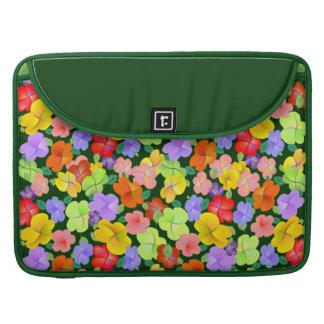 Flores Petaline de la primavera Funda Para Macbooks