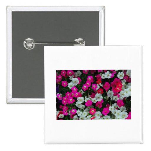 flores pin cuadrada 5 cm