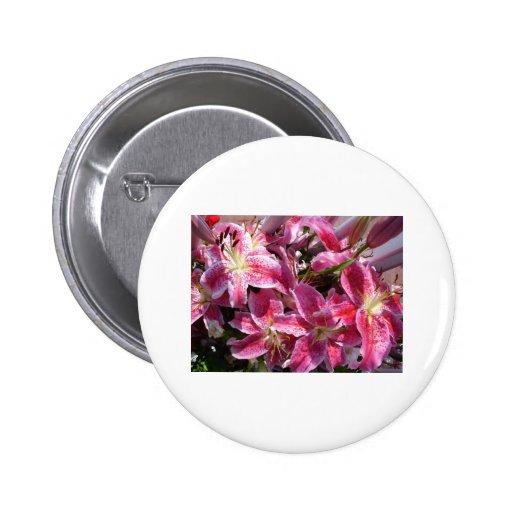 Flores Pin Redondo De 2 Pulgadas