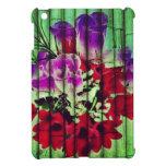 Flores Pintadas no Bambu iPad Mini Capas
