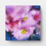 Flores Placas De Plastico