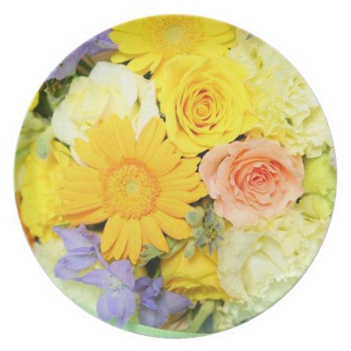 Flores Plato De Cena