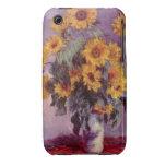 Flores por el caso del iPhone 3G/3GS de Claude Case-Mate iPhone 3 Carcasa