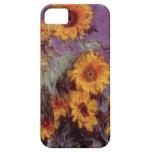 Flores por el caso del iPhone 5 de Claude Monet iPhone 5 Fundas