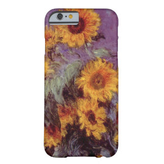 Flores por el caso del iPhone 6 de Claude Monet Funda De iPhone 6 Barely There