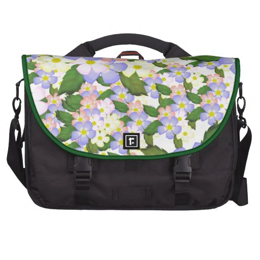 Flores por todas partes bolsas de ordenador