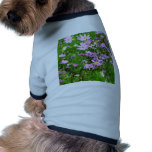 flores preciosas 03 del jardín camiseta de mascota