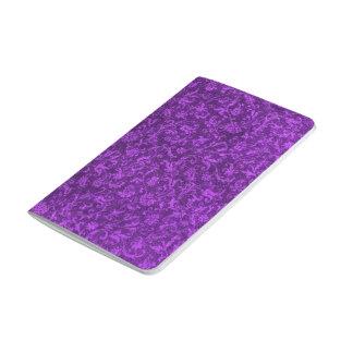 Flores púrpuras Amethyst florales de la uva del Cuadernos