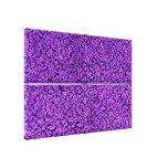 Flores púrpuras Amethyst violetas florales del Impresión En Lienzo Estirada
