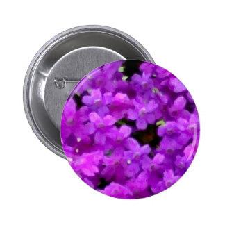 Flores púrpuras de los Wildflowers expresivos flor Pins