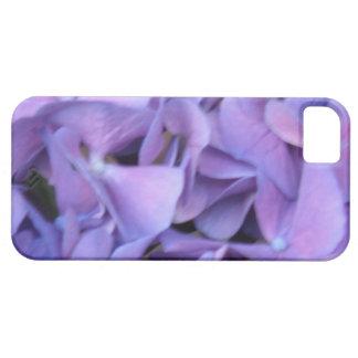 Flores púrpuras del Hydrangea iPhone 5 Case-Mate Cárcasa