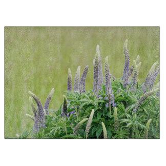 Flores púrpuras del Lupine Tablas De Cortar