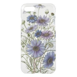 Flores púrpuras funda para iPhone 7