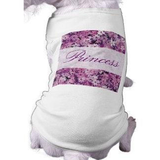Flores púrpuras hermosas del Phlox Ropa De Perros