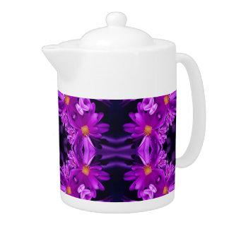 Flores púrpuras inconsútiles