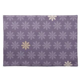 Flores púrpuras manteles