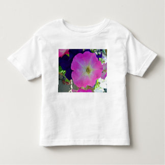 Flores púrpuras oscuras del gloryand rosado t shirts