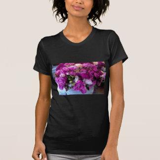 Flores púrpuras poleras