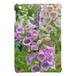 Flores púrpuras y blancas del foxglove