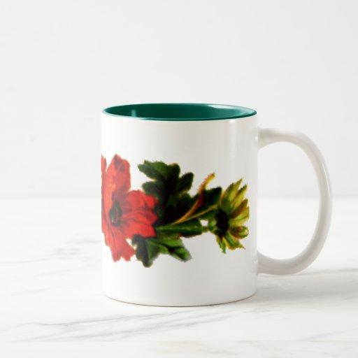 flores-redyellow tazas