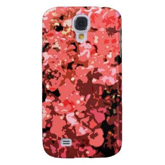Flores rojas abstractas de Bougainville