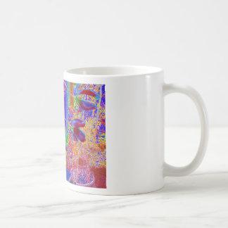 flores rojas classic white coffee mug