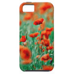 Flores rojas de la amapola iPhone 5 Case-Mate coberturas