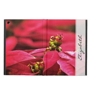 Flores rojas de los Poinsettias