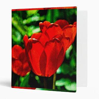"""Flores rojas del tulipán carpeta 1"""""""