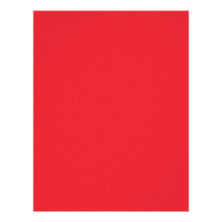 "Flores rojas lindas en fondo rojo claro folleto 8.5"" x 11"""