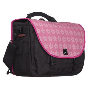 flores rosa 2 bolsa para ordenador