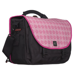 Flores rosa bolsas de portatil