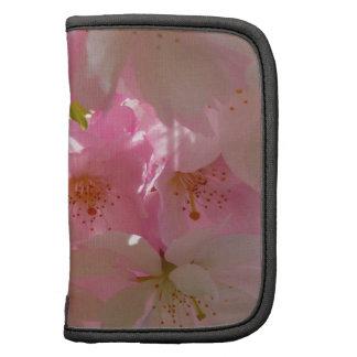 Flores rosadas de las flores de cerezo japonesas planificador
