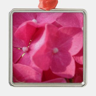 flores rosadas ornamentos para reyes magos