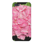 Flores rosadas del Hydrangea iPhone 5 Funda