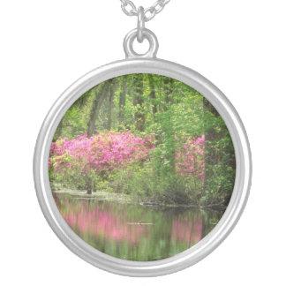 Flores rosadas del lugar de Middleton Grimpolas