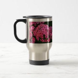 Flores rosadas del Phlox Taza De Café
