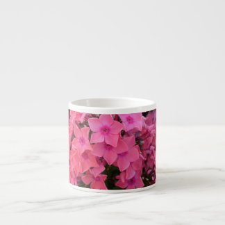 Flores rosadas del Phlox Tazitas Espresso