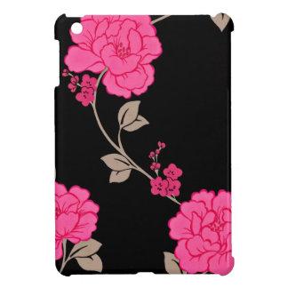 Flores rosadas del vintage iPad mini protector