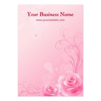 Flores rosadas elegantes de los rosas - tarjetas d